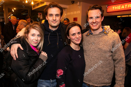 Editorial photo of 'Showstopper! The Improvised Musical' party, Gala Night, London, UK - 23 Jan 2019