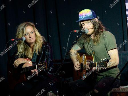 Clare Dunn and Jaren Johnston