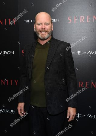 """Robert Hobbs attends a special screening of """"Serenity"""" at the Museum of Modern Art, in New York"""