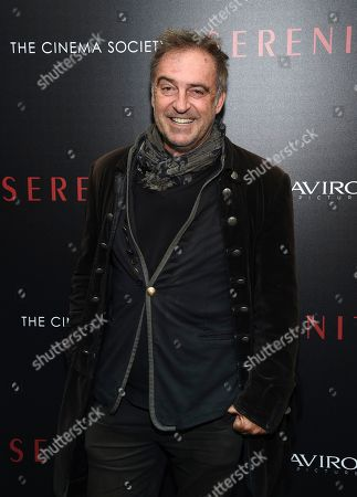 """Antoine Verglas attends a special screening of """"Serenity"""" at the Museum of Modern Art, in New York"""