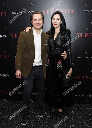 "Harry Kargman, Jill Kargman. Harry Kargman and Jill Kargman attend a special screening of ""Serenity"" at the Museum of Modern Art, in New York"