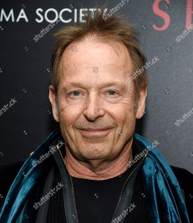 """Drummer Simon Kirke attends a special screening of """"Serenity"""" at the Museum of Modern Art, in New York"""
