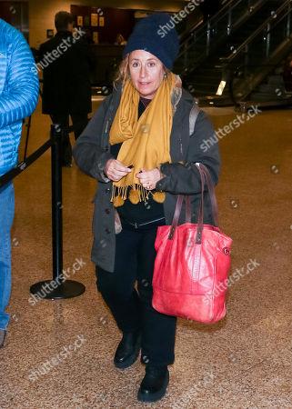 Editorial image of Kim Snyder at Salt Lake City Airport, Salt Lake, USA - 23 Jan 2019