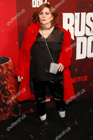 "Linda Ramone attends Netflix's ""Russian Doll"" season one premiere at Metrograph, in New York"