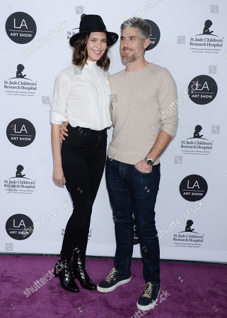 Dave Annable and wife Odette Annable