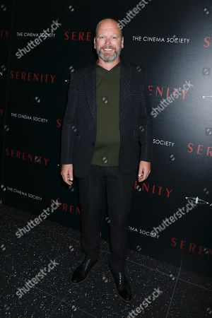 Editorial photo of 'Serenity' film premiere, Arrivals, New York, USA - 23 Jan 2019