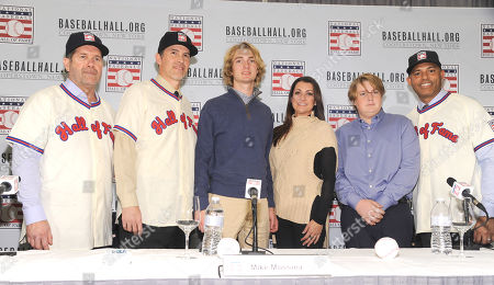 Baseball Hall of Fame inductees press conference, New York