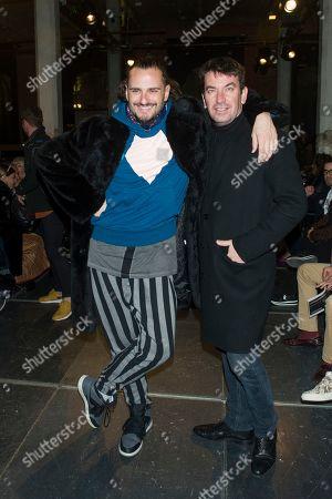 Asier Etxeandia and Arturo Valls