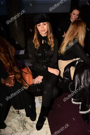 Elisa Bachir Bey in the front row