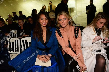 Vaimalama Chaves, Sylvie Tellier in the front row