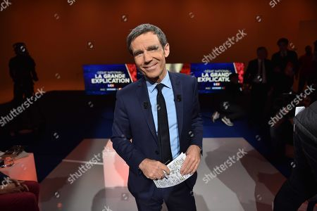 Editorial image of 'National Debate: The Great Explanation' TV show, Paris, France - 23 Jan 2019