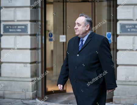 Editorial image of Former Scotland First Minister Alex Salmond arrested by Police, Edinburgh, United Kingdom - 24 Jan 2019