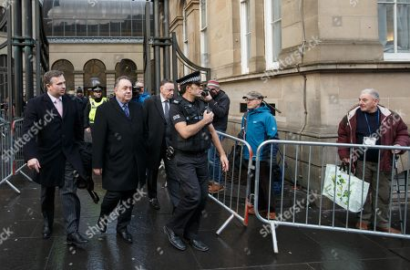 Editorial picture of Former Scotland First Minister Alex Salmond arrested by Police, Edinburgh, United Kingdom - 24 Jan 2019