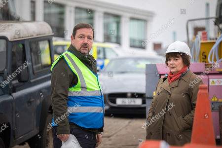 Daniel Ryan as Alec Sidden and Brenda Blethyn as DCI Vera Stanhope.