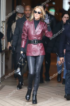 Editorial picture of Celine Dion out and about, Paris, France - 24 Jan 2019