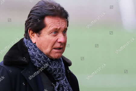 Waldemar Kita, President of Nantes during a tribute for soccer player Emiliano Sala at a FC Nantes in La Joneliere, Nantes, France, 24 January 2019. Reports on 22 January 2019 state that Argentinian English Premier League Cardiff City soccer player Emiliano Sala is missing after a light aicraft he was travelling in from Nantes in France to Cardiff disapeared over the English Channel. Sala had recently signed for Cardiff City from French club Nantes. The Piper Malibu lost contact off Alderney in the Channel Islands on the evening of 21 January 2019.