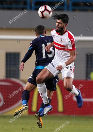 Editorial picture of Zamalek SC vs Pyramids FC, Cairo, Egypt - 24 Jan 2019