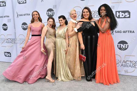 Britt Baron, Rachel Bloom, Rebekka Johnson, Kimmy Gatewood, Britney Young and Sydelle Noel