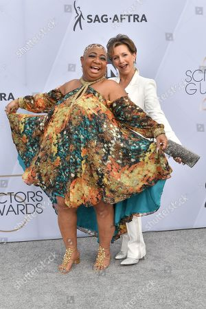 Luenell and Gabrielle Carteris
