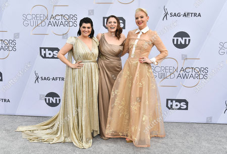 Rebekka Johnson, Rachel Bloom and Kimmy Gatewood