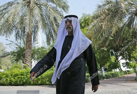 Sheikh Nahyan bin Mubarak Al Nahyan, the UAE Minister of Tolerance walks in his garden before an interview with The Associated Press, in Abu Dhabi, United Arab Emirates, . As the UAE prepares to host Pope Francis Feb. 3-5, the country's minister of tolerance says the first-ever papal visit to the Arabian Peninsula will contribute to building bridges in a region riven by political and sectarian divisions
