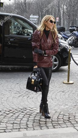 Editorial photo of Celine Dion out and about, Haute Couture Fashion Week, Paris, France - 24 Jan 2019