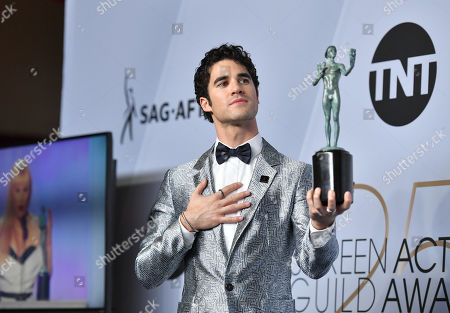 Darren Criss - Outstanding Performance by a Male Actor in a Television Movie or Miniseries - 'Assassination of Gianni Versace '