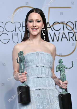 Rachel Brosnahan - Outstanding Performance by a Female Actor in a Comedy Series - 'The Marvelous Mrs. Maisel'