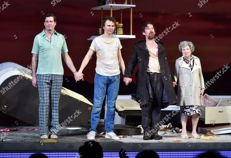 Editorial picture of 'True West' Broadway play opening night, Curtain Call, New York, USA - 24 Jan 2019