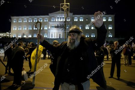 Editorial picture of Protest against the Prespes agreement between Athens and Skopje, Greece - 24 Jan 2019