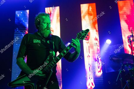 Editorial photo of Mastodon in concert at the O2 Academy, Newcastle, UK - 18 Jan 2019