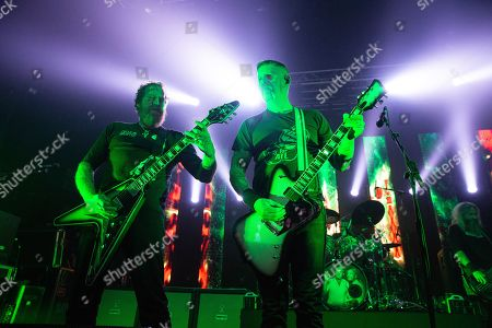 Editorial picture of Mastodon in concert at the O2 Academy, Newcastle, UK - 18 Jan 2019