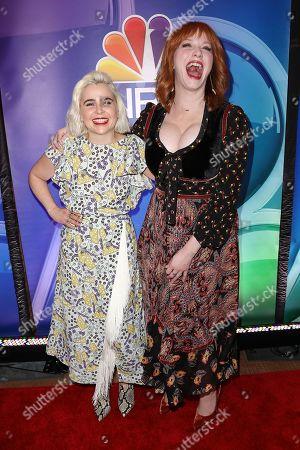 Mae Whitman and Christina Hendricks