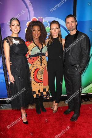Moran Atias, Lorraine Toussaint, Michaela McManus and Warren Christie