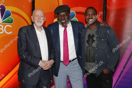 Stock Photo of Dominic Chianese, Frankie Faison and Jarod Haynes