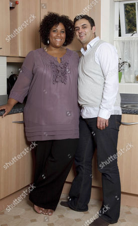 Stock Photo of Nicole Lawrence with Husband Brian