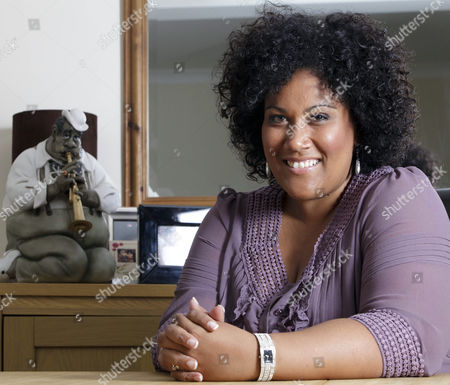 Editorial image of 'X Factor Contestant' Nicole Lawrence at home, Peterborough, Britain - 21 Sep 2009