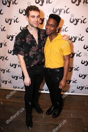 Billy Cullum (Alex) and Tyrone Huntley (Obi)