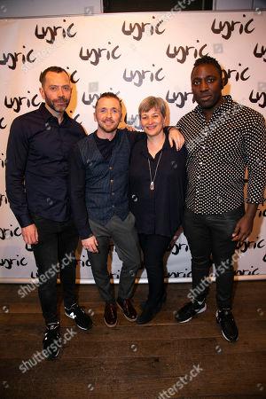 Matt Jones (Author), Robby Graham (Director), Sian Alexander (Executive Director) and Kele Okereke (Author)