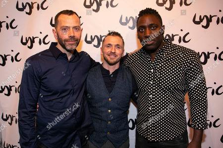 Matt Jones (Author), Robby Graham (Director) and Kele Okereke (Author)