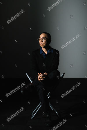 Stock Photo of Apichatpong Weerasethakul with his artwork 'Invisibility'