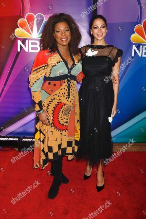Lorraine Toussaint and Moran Atias