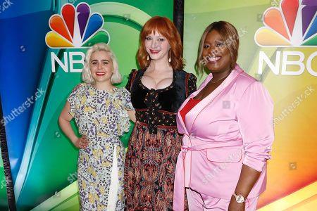 Mae Whitman, Christina Hendricks and Retta