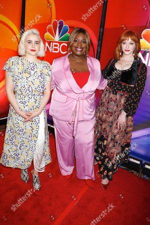 Mae Whitman, Retta and Christina Hendricks