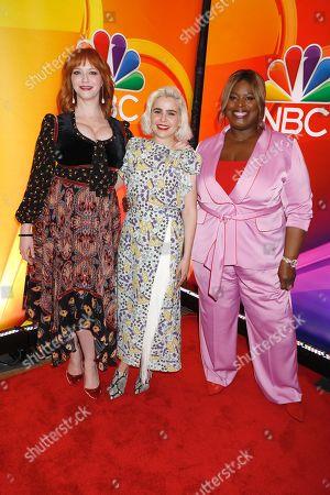 Christina Hendricks, Mae Whitman and Retta