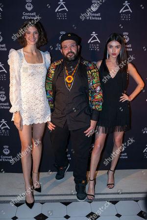 Marta Ortiz, Toni Bonet and Lucia Rivera