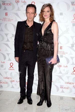 Stock Image of Rafi Pitts and Kate Moran