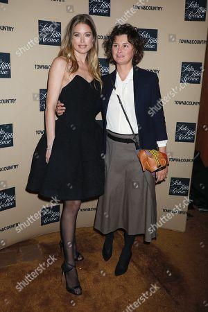 Doutzen Kroes and Trish Goff