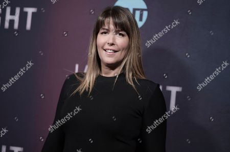 "Patty Jenkins attends the LA premiere of ""I Am the Night"" at Harmony Gold Theater, in Los Angeles"