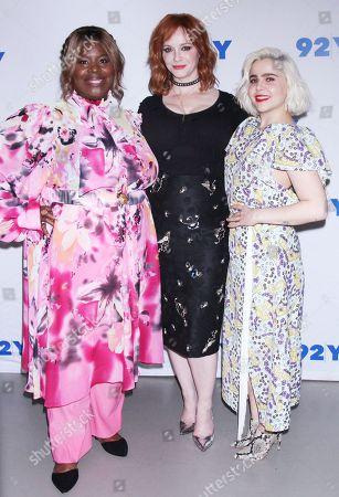 Retta, Christina Hendricks and Mae Whitman